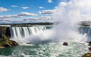 Horseshoe Falls seen from the Canadian side of Niagara Falls