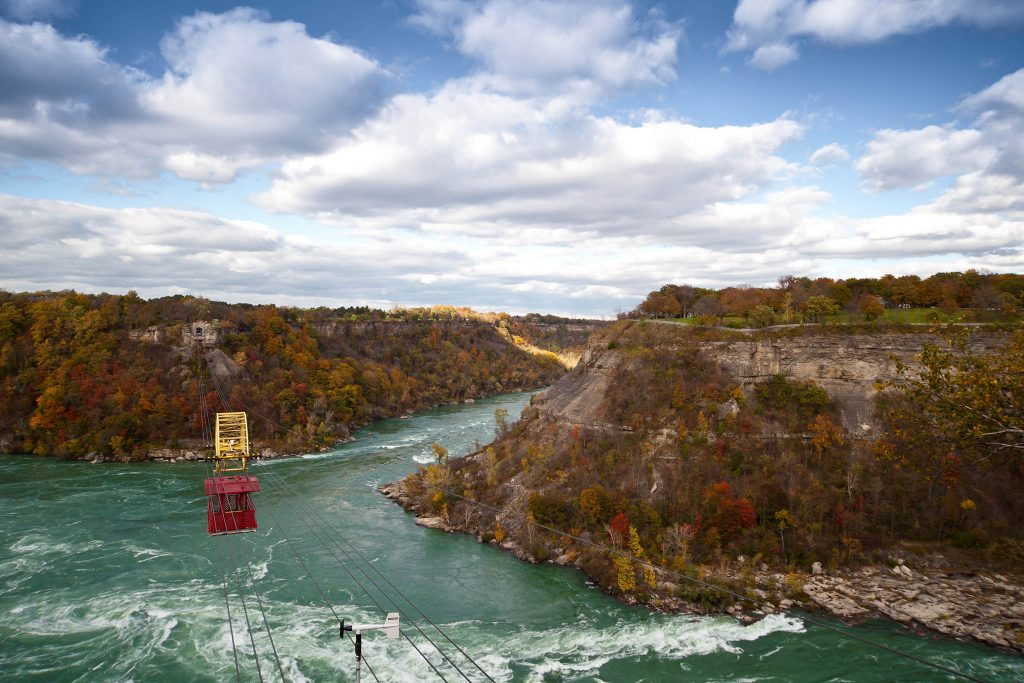 Cable Car Over Niagara River Whirlpool Canada